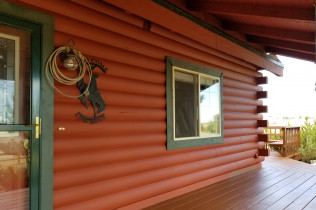 Cabin home painting cheyenne wy
